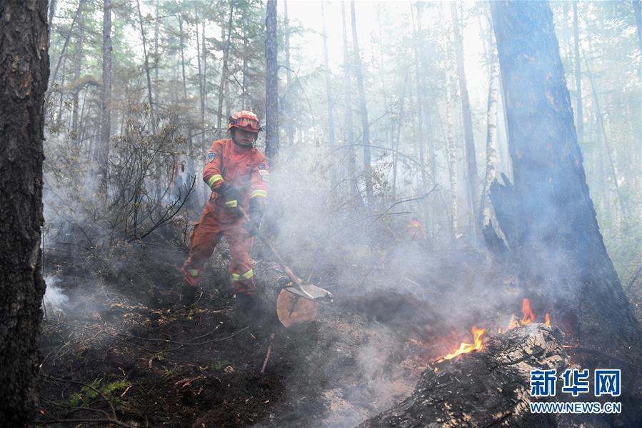(社会)(1)秀山火场:转入清理看守阶段