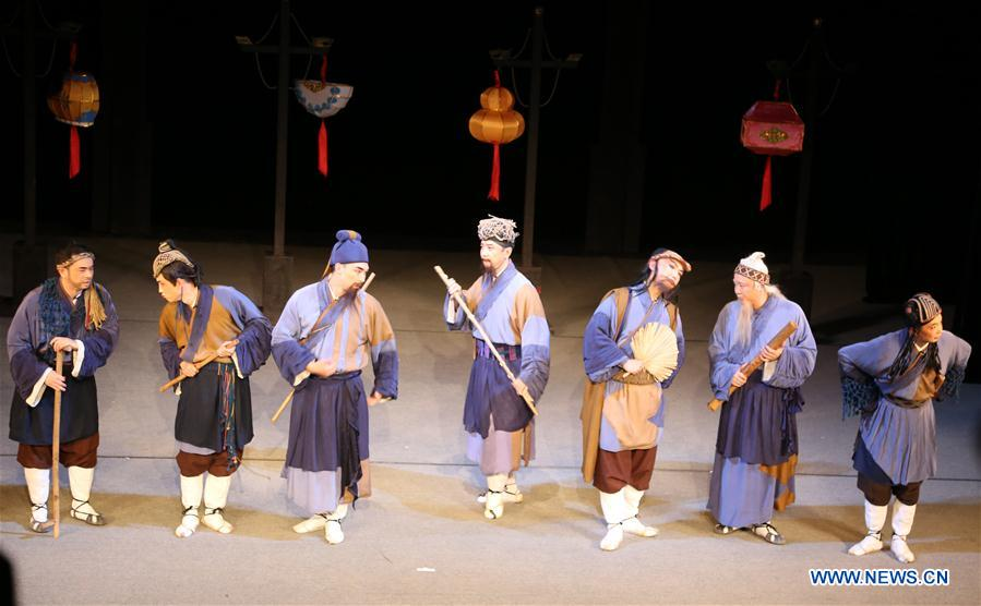 ROMANIA-SIBIU-INTERNATIONAL THEATER FESTIVAL-CHINA-SICHUAN OPERA