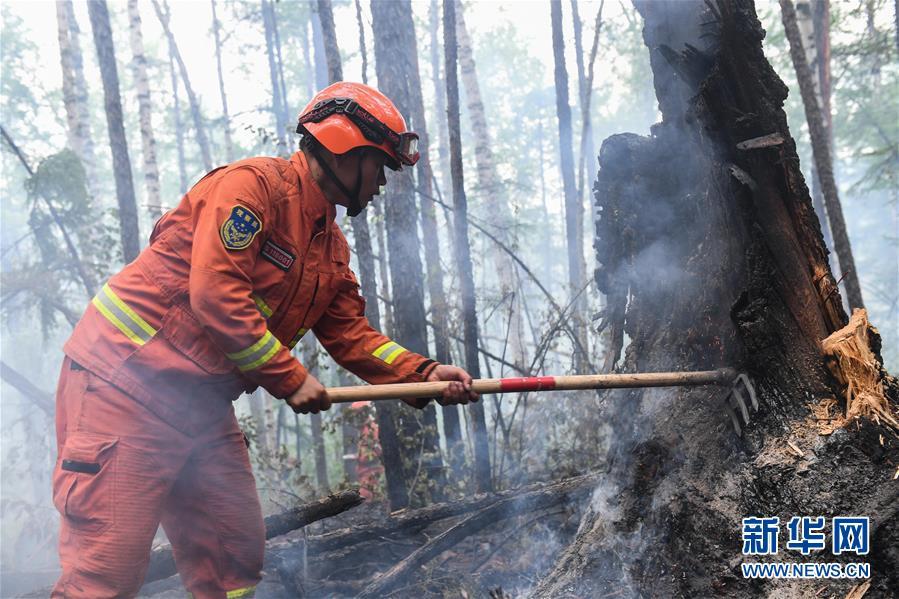 (社会)(2)秀山火场:转入清理看守阶段