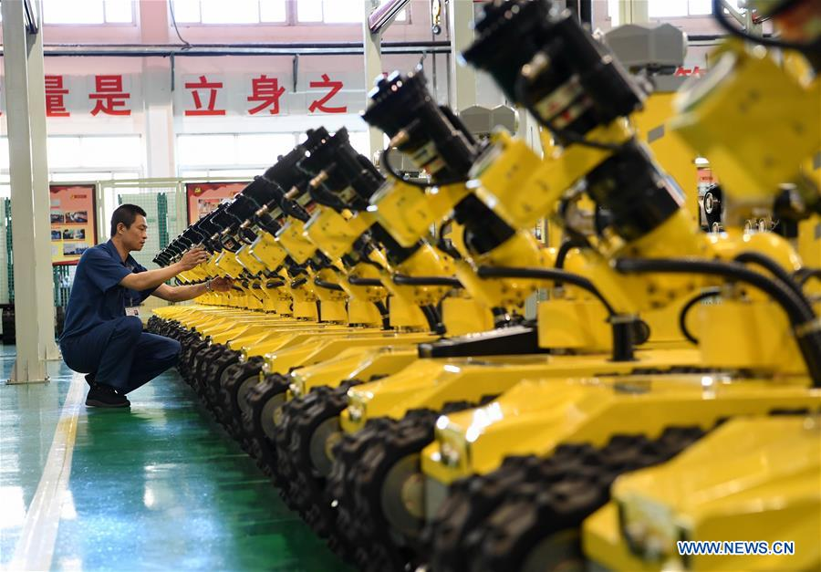 Xinhua Headlines: Tech know-how modernizes China's century-old industrial city
